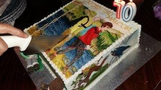 Cath & Malcolm's fantastic birthday cake.